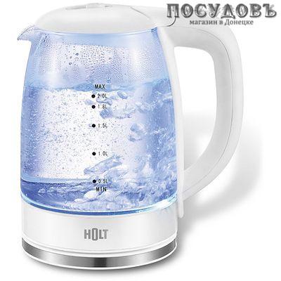HOLT HT-KT-010 электрочайник стекло термостойкое 2200 Вт 2000 мл