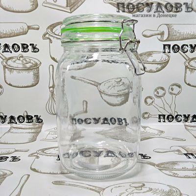 КНР  948-10 банка для хранения стекло 1500 мл, 1 шт.