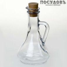 Pasabahce Olivia 80108SLB бутылка с пробкой, стекло, Ø41×157 мм, 260 мл, без упаковки 1 шт.