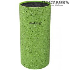 KING Hoff KH-1094 колода для ножей 110×220 мм, пластик, зеленый цвет 1 шт.