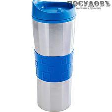 MAYER n BOCH 26979 термокружка, колба полипропилен 560 мл, цвет металлик с синим