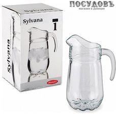 Pasabahce Sylvana 43334, кувшин, Ø110×230 мм 1370 мл, стекло
