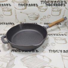 Биол Орион 1224 сковорода Ø240×55 мм, чугун литой, съемная ручка