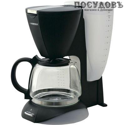 Aurora AU143 кофеварка капельная, 800 Вт, 1250 мл, цвет белый