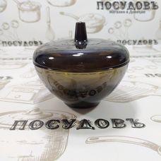 Luminarc Ambiante Eclipse L5094 сахарница с крышкой, Ø120, стекло упрочненное, Россия, без упаковки 2 пр.