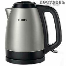 Philips HD9305/21 электрочайник, 2200 Вт, 1500 мл, сталь нержавеющая