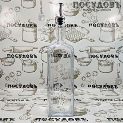 Pasabahce HomeMade 80230 бутылка с пробкой-дозатором, стекло, 1000 мл