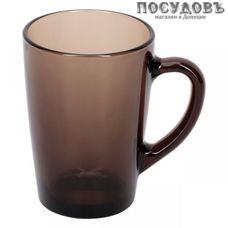 """Luminarc """"New Morning"""" h9149 кружка, цвет коричневый, 320 мл, стекло упрочненное, Россия, без упаковки 1 шт"""