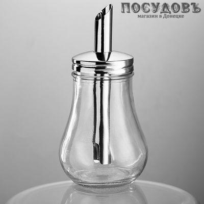 Webber BE-0070 сахарница с дозатором, стекло, 250 мл