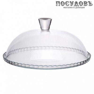 Pasabahce Patisserie 95198B блюдо с крышкой, стекло упрочненное, Ø322 мм, Россия, в упаковке 2 пр.