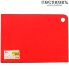 Giaretti Delicato GR1880ЧЕРИ доска разделочная, материал полипропилен 250×170 мм, цвет сочный томат