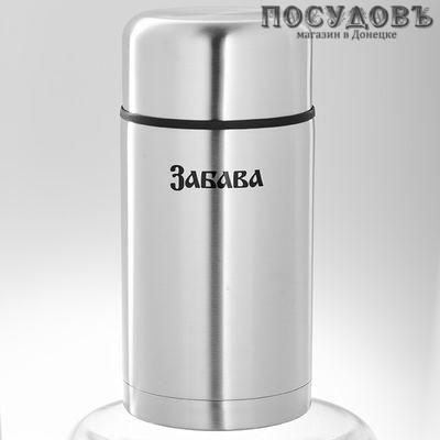 Забава РК-1012М термос пищевой 1000 мл, колба сталь нержавеющая, металлик цвет