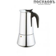 KING Hoff KH-1047, гейзерная кофеварка 600 мл, сталь нержавеющая 1 шт.