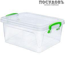Эльфпласт Fresh Box Slim 233 контейнер с крышкой, полипропилен, 215×145×100 мм, 1500 мл