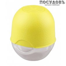 Phibo 4312183/4312887 лимонница с крышкой, цвет желтый, 87×87×96 мм, полистирол