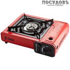 Delta D-213P плита газовая отдельностоящая, 1-конфорочная, эмалированное покрытие, цвет красный