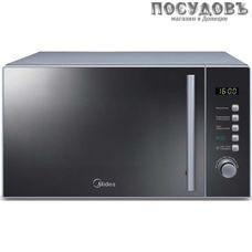 Midea AM820CMF отдельностоящая микроволновая печь, 800 Вт, 20 л, серая