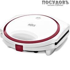 HOLT HT-SC-004 сэндвичница, 750 Вт, цвет белый с красным