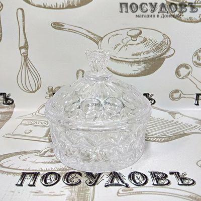 КНР 401-2 сахарница с крышкой, стекло, мл