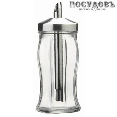 Pasabahce Black and White 80078SLB дозатор для сахара, Ø66×130 мм, 240 мл, стекло