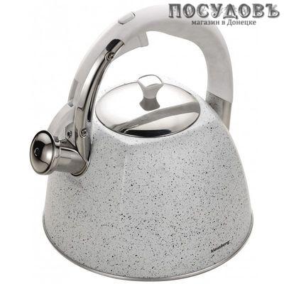 Klausberg KB-7261 чайник со свистком сталь нержавеющая 3 л