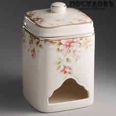 Beatrix Сицилия МН042Q банка для чайных пакетиков с крышкой, 80×130 мм, фарфор, Китай, в упаковке 2 пр.