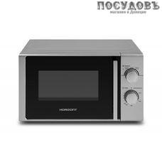 Horizont 20MW700-1378-BIS отдельностоящая микроволновая печь 700 Вт, 20 л, серебристый
