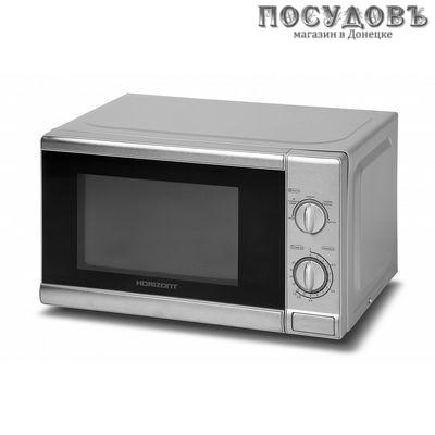 Horizont 20MW700-1378-BLS микроволновая печь отдельностоящая 700 Вт, 20 л, цвет серебристый