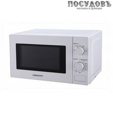 Horizont 20MW700-1378DMW отдельностоящая микроволновая печь, 700 Вт, 20 л, белый