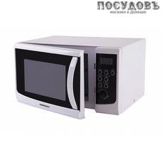 Horizont 23MW800-1379CAW отдельностоящая микроволновая печь, 800 Вт, 23 л, белый