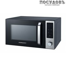 Horizont MW 800-1379S отдельностоящая микроволновая печь, 800 Вт, 23 л, черный
