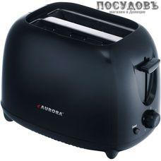 Aurora AU 3324 тостер на 2 шт, 750 Вт, цвет черный