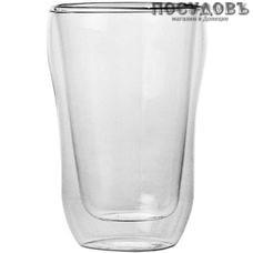 Attribute Duos ATG103 стакан с двойными стенками, 450 мл, стекло термостойкое, в подарочной упаковке 1 шт.