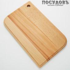 "Добрый Дом ""Лепесток"" Л-30 доска разделочная, материал бук, 300×190×15 мм 1 шт"