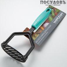 """Webber """"Fiesta"""" ВЕ-1573Y, картофелемялка, 250 мм, нейлон, пластиковая ручка, Россия, на блистере 1 шт"""