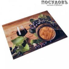 Alpenkok Виноградная лоза AK-9027 доска разделочная, материал стекло закаленное, 300×400×4 мм, Китай, 1 шт.