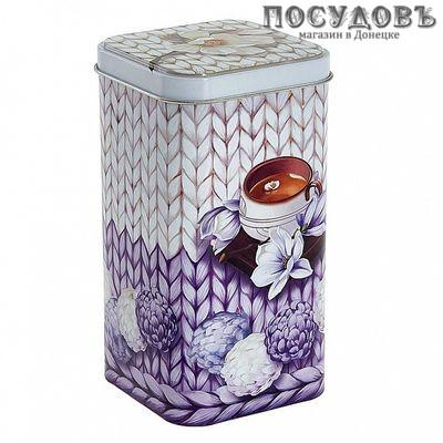РФЖУ Чайное наслаждение 140-01857 банка для хранения , жесть, 1400 мл
