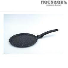 Victoria Гранит G0224 сковорода блинная Ø240×20 мм, алюминий литой, гранитное покрытие Greblon C3+