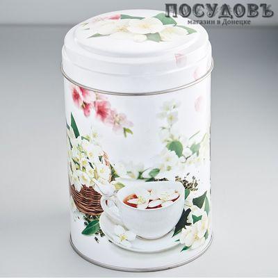 РФЖУ Чайная церемония 110-00503 банка для хранения с крышкой, жесть, 1100 мл