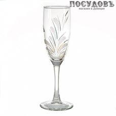ГласСтар Салют 3 1687К, бокал для шампанского 170 мл, материал стекло, Россия, в упаковке 6 шт.