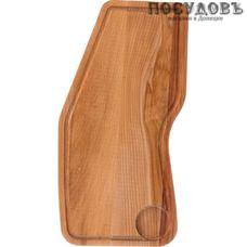 Agness 430-161 доска разделочная, материал дерево, 400×190×18 мм, Россия, 1 шт.