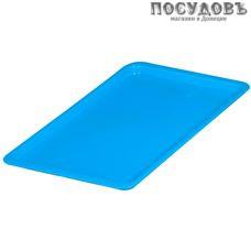 Ар-пласт 16016 поднос, полипропилен, 430×250×15 мм, голубой