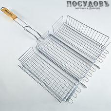 Webber Домбай-6/1, решетка-барбекю, сталь угреродистая хромированная, 410×300 мм, Китай, без упаковки 1 шт.