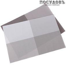 КНР HYW0832 прямоугольная салфетка сервировочная 300×450 мм, ПВХ, микс цвет 4 шт.