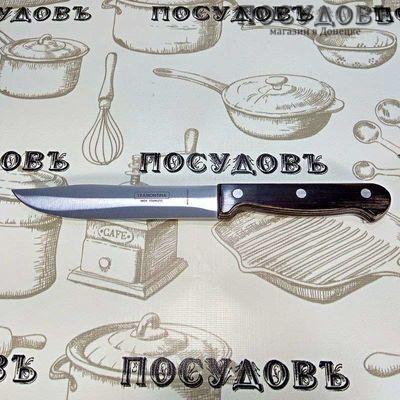 Tramontina Polywood TR-21126/196 мясной нож, сталь нержавеющая AISI 420 152×1,0 мм, деревянная рукоятка, Бразилия