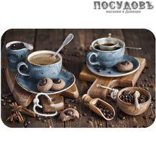 Пластмаркет Кофе салфетка сервировочная, материал ПВХ 260×410 мм
