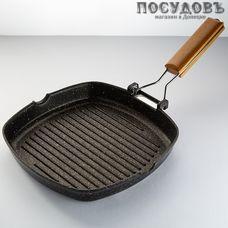 Webber Black Onyx ВЕ-4513/24N сковорода-гриль Ø240×40 мм, алюминий литой, мраморное покрытие, 1 шт.