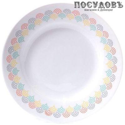 Luminarc Artificia P0553 тарелка глубокая, стекло упрочненное, Ø220 мм, Франция 1 шт.