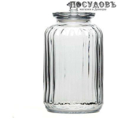 Pasabahce Viva 96394B банка для хранения с крышкой, стекло, 1500 мл