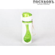 Коралл 3860 бутылка с ремешком, 450 мл, полипропилен, без упаковки 1 шт.
